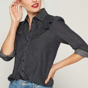 The Fifth Label • Denim long sleeve shirt